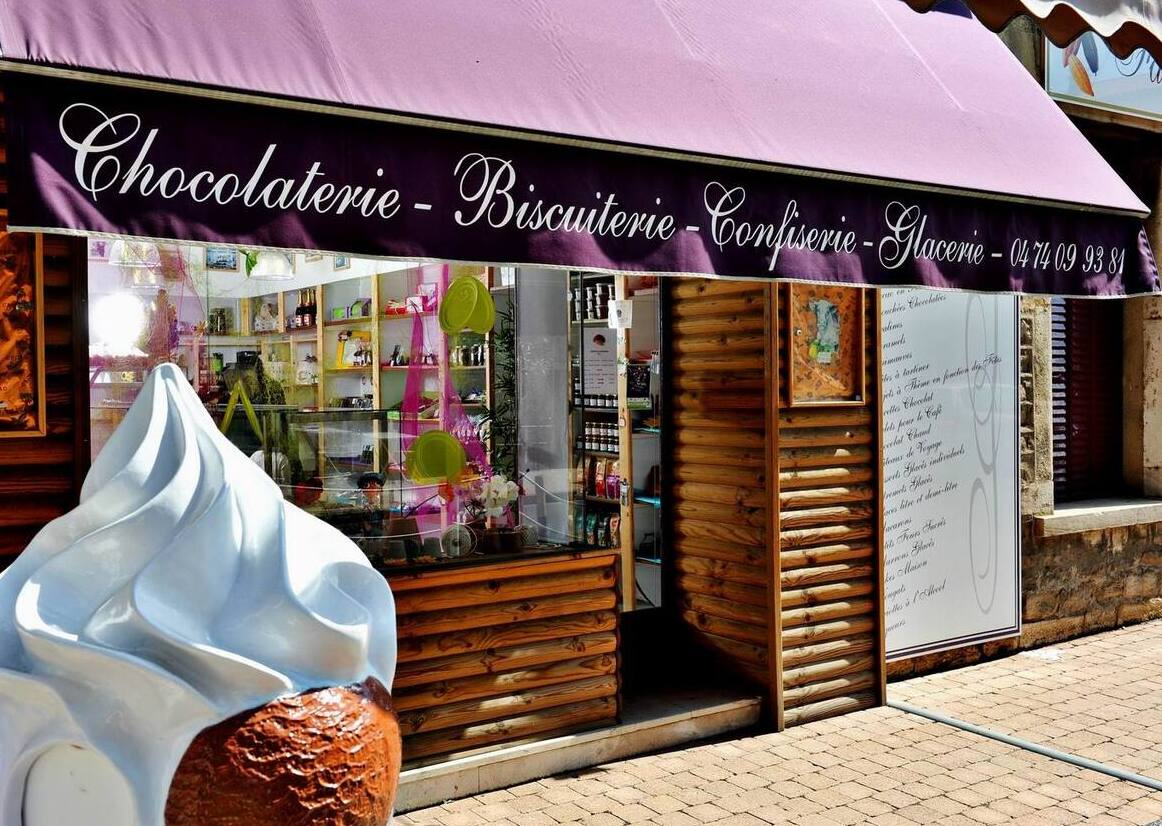 La devanture la chocolaterie L'Or-Fève®